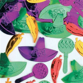"""Picture of Ole Embossed Confetti Mixes 1/2""""- Item No.ams-36879"""