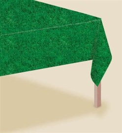 Picture of Tee Time Printed All Over Grass Table Cover 54in x 102in- Item No.ams-579857