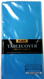 "Picture of Plastic Table Cover Caribbean 54"" x 108"" - Item No. ams-77015-54-tc"