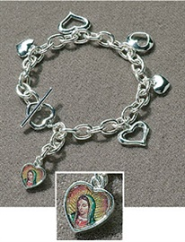 Picture of Guadalupe Bracelet - Our Lady of Guadalupe Bracelet with Charm - Item No. gc406