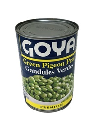 Picture of Goya Green Pigeon Peas - Gandules Verdes 15 oz - Item No. goya-2001