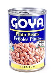 Picture of Goya Pinto Beans - Frijoles Pintos 15.5 oz (Pack of 3) - Item No. goya-2437