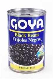 Picture of Goya Black Beans- Frijoles Negros 15.5 oz (Pack of 3)- Item No.goya-2466