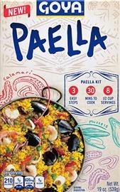 Picture of Goya Paella Valenciana Dinner Kit 19 oz- Item No.goya-2660