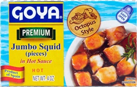 Picture of Goya Octopus in Olive Oil 4 oz- Item No.goya-3637