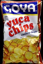 Picture of Goya Cassava Yuca Chips 4 oz (Pack of 3)- Item No.goya-4941