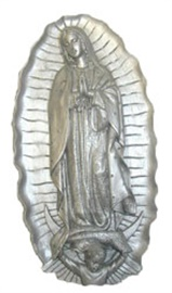 Picture of Our Lady of Guadalupe Plaque - Item No. ks807