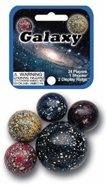 "Picture of Galaxy Marbles Game Net (Canicas)  6.25""h x 2.75""w x 1.5""d - Item No. marbles-77590"