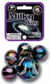 "Picture of Milkyway Marbles Game Net (Canicas) 6.25""h x 2.75""w x 1.5""d - Item No. marbles-77660"