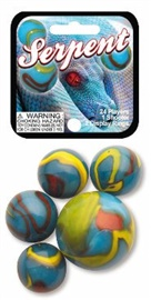 "Picture of Serpent Marbles Game Net (Canicas) 6.25""h x 2.75""w x 1.5""d - Item No. marbles-77672"