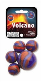 "Picture of Volcano Marbles Game Net (Canicas) 6.25""h x 2.75""w x 1.5""d - Item No. marbles-77687"