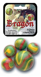 "Picture of Dragon Marbles Game Net (Canicas) 6.25""h x 2.75""w x 1.5""d - Item No. marbles-77702"