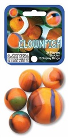 "Picture of Clownfish Marbles Game Net (Canicas) 6.25""h x 2.75""w x 1.5""d - Item No. marbles-77733"