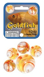 "Picture of Goldfish Marbles Game Net (Canicas) 6.25""h x 2.75""w x 1.5""d - Item No. marbles-77781"
