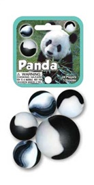 "Picture of Panda Marbles Game Net (Canicas) 6.25""h x 2.75""w x 1.5""d - Item No. marbles-77782"