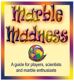 "Picture of Marble Madness Booklet 4""h x 3.5""w x .0625""d - Item No. marbles-93820"