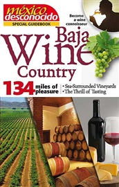 Picture of Baja Wine Country by Mexico Desconocido - Item No. md-bajawine