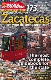 Picture of <b>Zacatecas Mexico Special Guidebook in English</b>&nbsp;- Item No.&nbsp;md-zacatecas-eng
