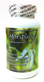Picture of Moringa Capsules - Moriplus Moringa Oleifera Tree Dietary Supplement 120 Capsules - Item No. moringa
