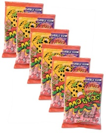 Picture of Motitas Fruit Gum 6 pack Chicles - Item No. motitas-fruit-6pk