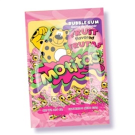 Picture of Motitas Fruit Gum - Chicles de Mascar Motitas - 70 ct / piezas - Item No. motitas-fruit