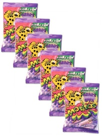 Picture of Motitas Grape Gum 6 pack Chiles de Uva - Item No. motitas-grape-6pk