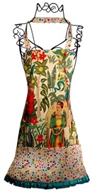 Picture of Cocina Apron Frida's Garden Light 1 unit - Item No. mp-c307-fridalight