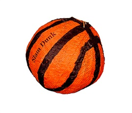 Picture of Basketball Pinata - Item No. pinata-10600