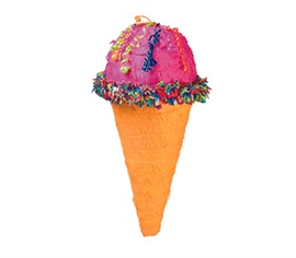 Picture of Ice Cream Cone Pinata - Item No. pinata-19670