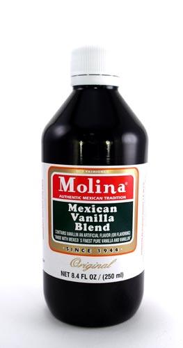Mexican Vanilla - Molina Vanilla 8.4 FL OZ - 250 ml