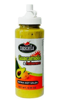 Picture of Zaaschila Guacamole with Chile Habanero Salsa Picante 9.35 ...
