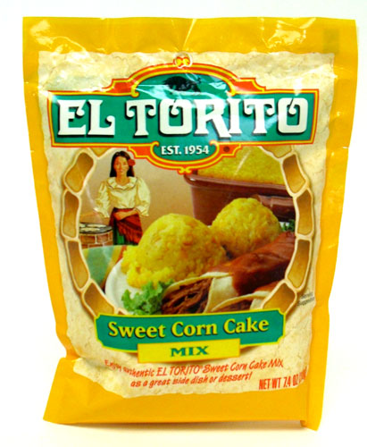 Picture of EL TORITO Sweet Corn Cake Mix 7.4 oz - Item No. 47674-12764