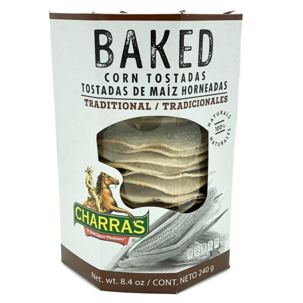 Charras Natural Baked Tostada 8.5 oz