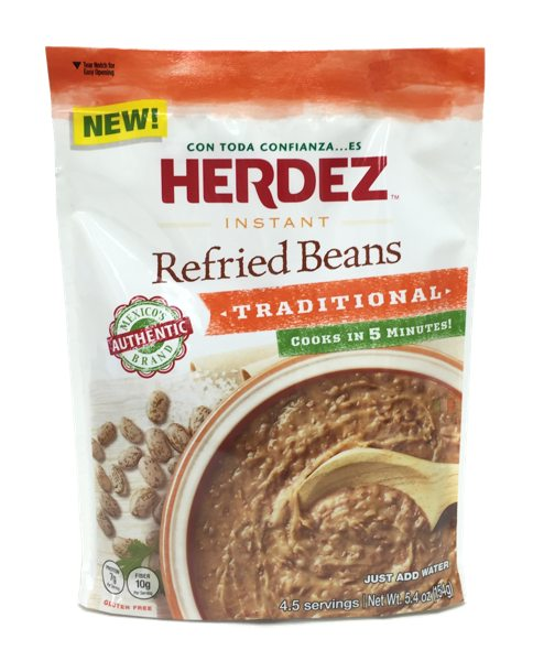 Herdez Instant Refried Beans Traditional Pack Of 3