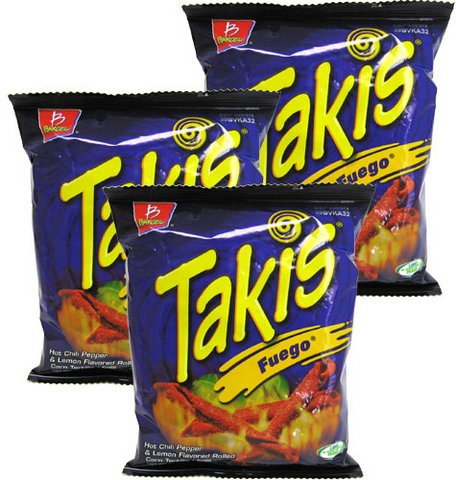 Takis Fuego Corn Tortilla Minis By Barcel 4 Oz Pack Of 3