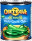 Ortega Whole Green Chilies