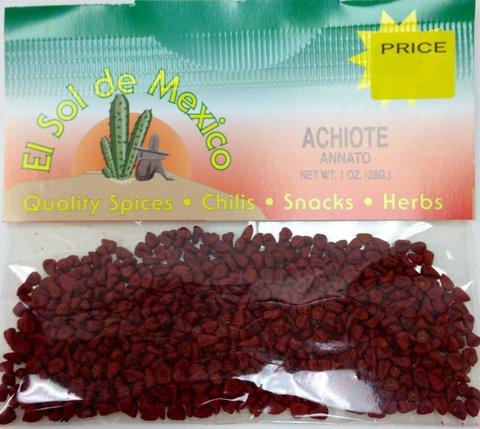 Achiote Seeds Achiote Annatto Seeds by el