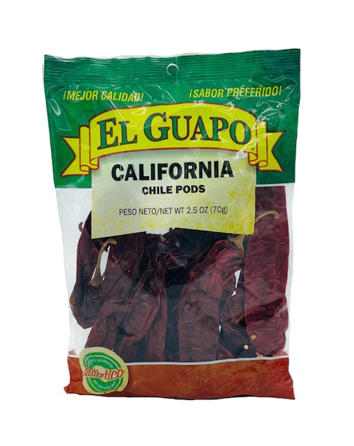 California Dried Chile Pepper By El Sol De Mexico 3 Oz
